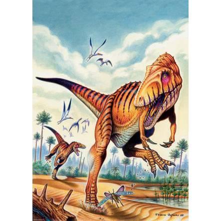 Saltriosaurus, Dinosaurier Poster