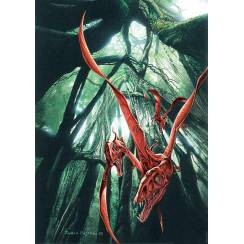 Eudimorphodon ranzii, Flugsaurier Poster von Fabio Pastori