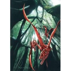 Eudimorphodon ranzii, Flugsaurier Poster