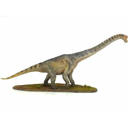 Brachiosaurus grün-grau, Dinosaurier Modell - Repaint