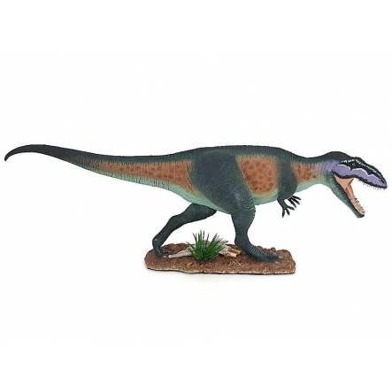 Giganotosaurus, Dinosaur Figure by Safari Ltd. - Repaint - Green-Brown
