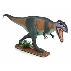 Giganotosaurus, Dinosaur Figure by EoFauna - Repaint - Green-Brown