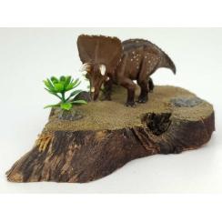 Triceratops 1:144, Dinosaurier Miniatur Figur von David Krentz