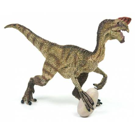 Oviraptor brown, Dinosaur Toy Figure by Papo