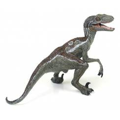 Velociraptor grey, Dinosaur Figure by Papo