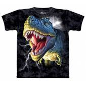 T-Rex brüllt, Dinosaurier T-Shirt The Mountain