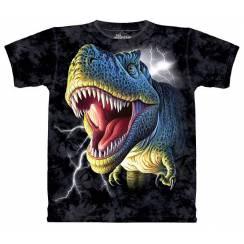 T-Rex brüllt, Dinosaurier T-Shirt The Mountain