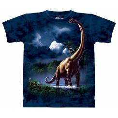 Brachiosaurus, Dinosaur T-Shirt by The Mountain