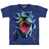 T-Rex reißend, Dinosaurier T-Shirt The Mountain