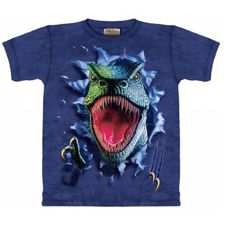 T-Rex reißend, Dinosaurier T-Shirt The Mountain
