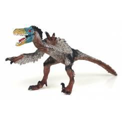 Velociraptor gefiedert, Dinosaurier Spielzeug von Bullyland