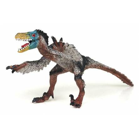 Velociraptor feathered, Dinosaur Toy Figure by Bullyland