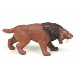 Smilodon, Saber-toothed Cat Toy Figure by Bullyland