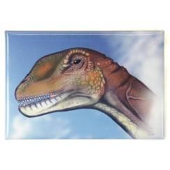 Spinophorosaurus, Dinosaurier Kopf Magnet