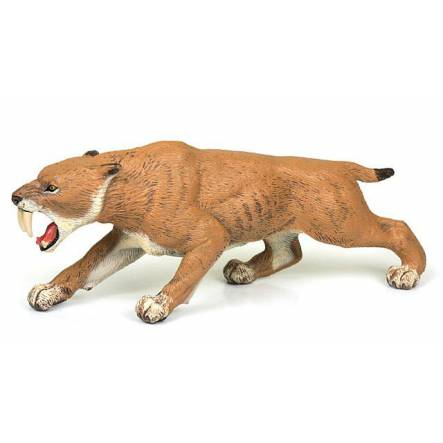 Smilodon, Sabre-toothed Cat Figure by Papo