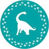 Dinosaurier Kuchenschablone, Dino Party Zubehör