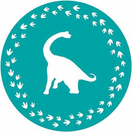 Dinosaur Cake Template, Dino Party Accessory
