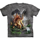 Stegosaurus, Dinosaurier T-Shirt The Mountain