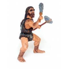 Neandertaler mit Keule, Urzeit Spielzeug Figur von Papo