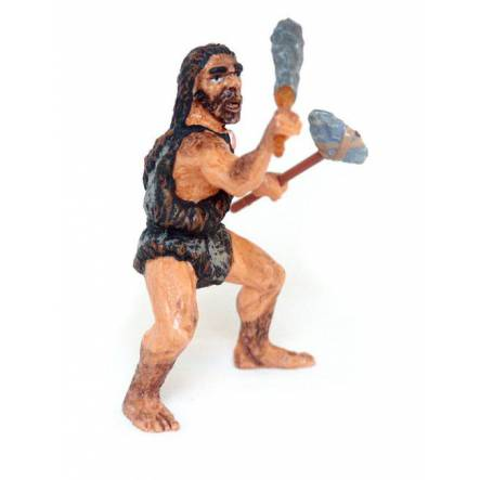 Neanderthal with Club, Prehistoric Man Toy Figure by Papo