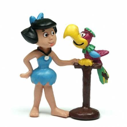 Betty Geröllheimer mit Papagei, Spielfigur