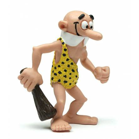 Fred Clever in Caveman Costume