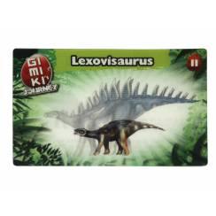 Lexovisaurus Jungtier, Dinosaurier Spielzeug von Gimiki