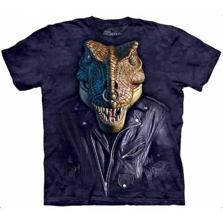 Rex Rocker, Dinosaurier T-Shirt The Mountain