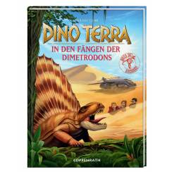 In den Fängen der Dimetrodons, Buch, Dino Terra, Coppenrath