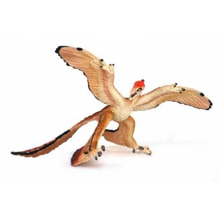Microraptor Dinosaurier Carnegie Safari Spielzeug