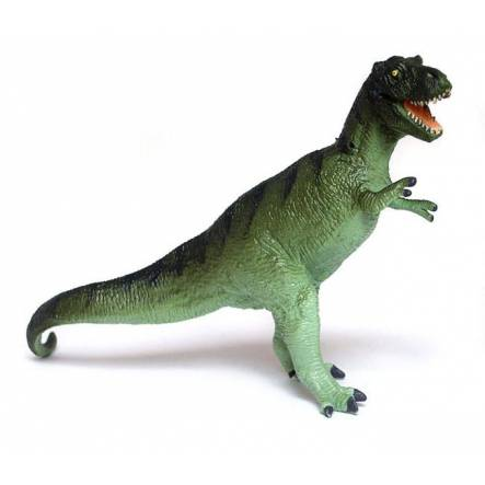 T-Rex green, Dinosaur Toy Figure of the Carnegie Collection