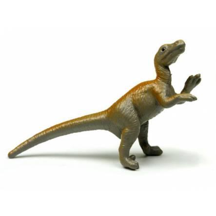 Velociraptor - grau-braun, Dinosaurier Mini-Figur