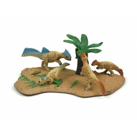 Koreaceratops Familie, Dinosaurier Spielzeug von CollectA