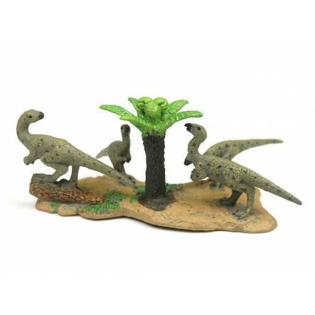 Hypsilophodon Familie, Dinosaurier Spielzeug von CollectA