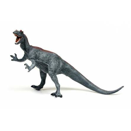 Allosaurus grey, Dinosaur Toy Figure of the Carnegie Collection