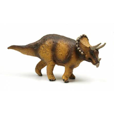 Triceratops, brown, Dinosaur Toy Figure of the Carnegie Collection
