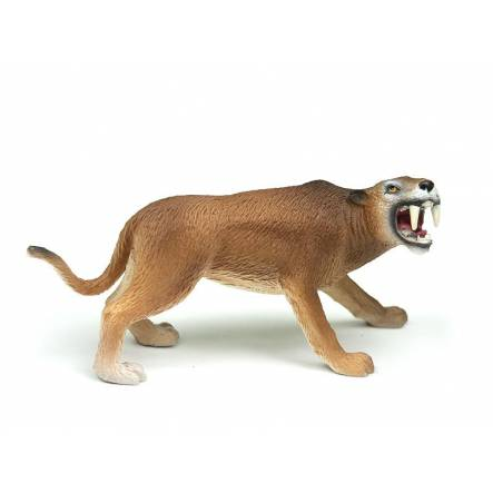 Machairodus, Saber-toothed Cat Toy Figure by Bullyland