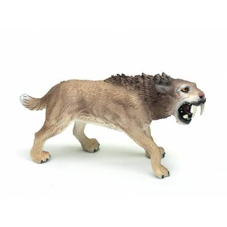 Smilodon Männchen, Säbelzahnkatze Spielzeug von Bullyland