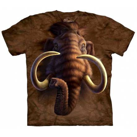 Mammoth Head, Ice Age T-Shirt by The Mountain