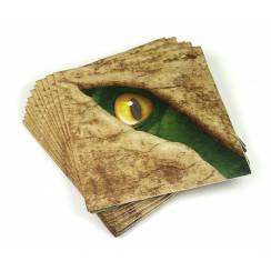 Dinosaur Napkins, small - Dino Party Garniture