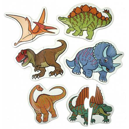 Dino Puzzle Set, for little children