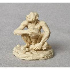 Australopithecus crouching, Model Kit by Vitali Klatt