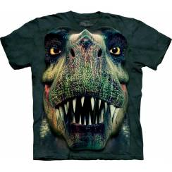 Rex Portrait, Dinosaur T-Shirt by The Mountain