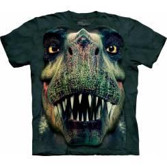 Rex Portrait, Dinosaurier T-Shirt The Mountain