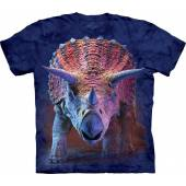 Triceratops charging, Dinosaur T-Shirt by The Mountain