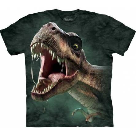 T-Rex brüllt 2, Dinosaurier T-Shirt The Mountain