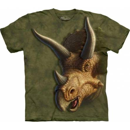 Triceratops Kopf, Dinosaurier T-Shirt The Mountain