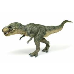 T.Rex walking, green, Dinosaur Figure by Papo