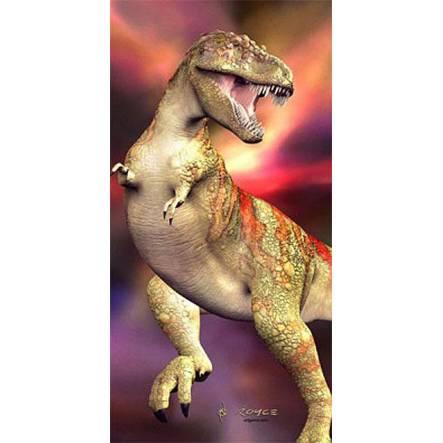 T-Rex 3D-Poster, Dinosaurier