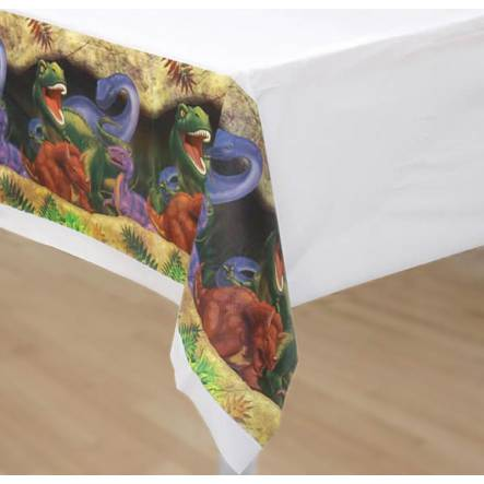 Dinosaur Tablecloth, Dino Party Accessory